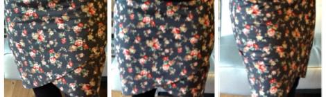 Winter Floral Skirt